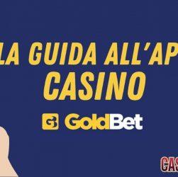 Foto App Casino Goldbet mobile